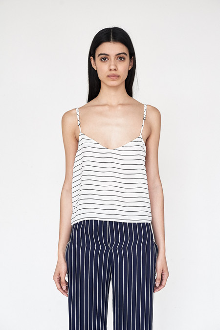 Assembly New York Poly Stripe Simple Cami