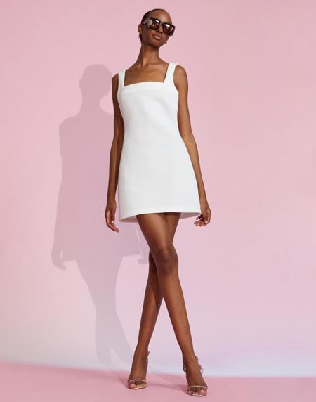 Cynthia Rowley Bonded Dress - White
