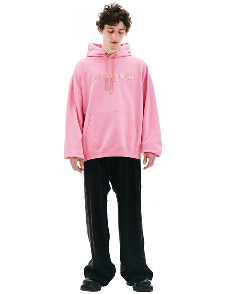 Mastermind World Printed Hoodie - Pink