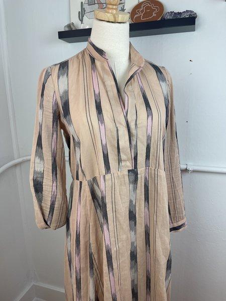 Rachel Comey Printed Maxi Dress - mauve multi