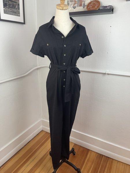 pre-loved rollas Boiler Suit - Black