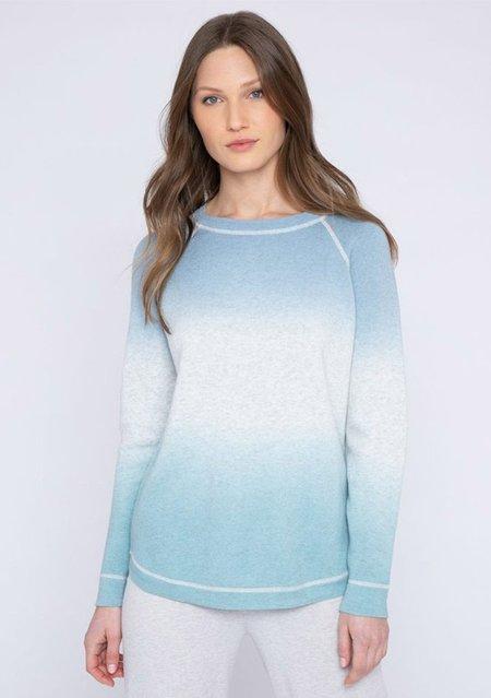 Heidi Says Reversible Ombre Sweatshirt - Haze Multi