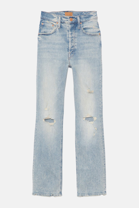 Mother Denim The Tripper Jeans - Cut Flowers
