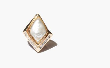 Kindred Black Athlane Ring - 14k gold