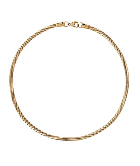 Ellie Vail Jewelry Candice Round Snake Chain Necklace