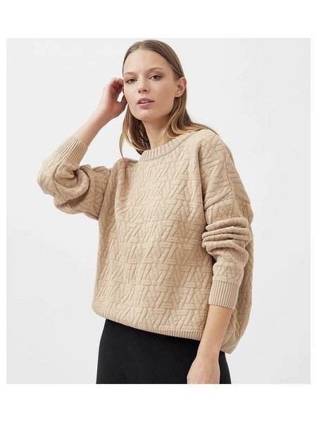 MILA VERT Knitted Triangle Pullover