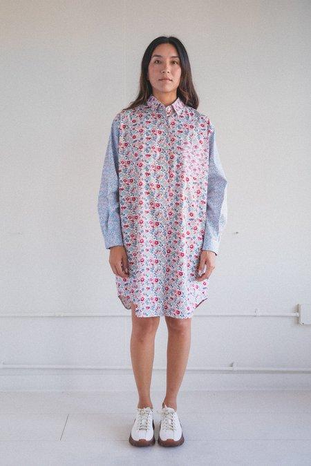 Kasmaria Floral Patch Shirt Dress