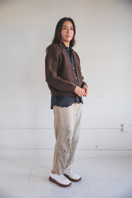 Ound Sauco Cardigan - Earth