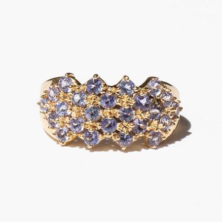 Kindred Black Alexandrovna Ring - 14k gold