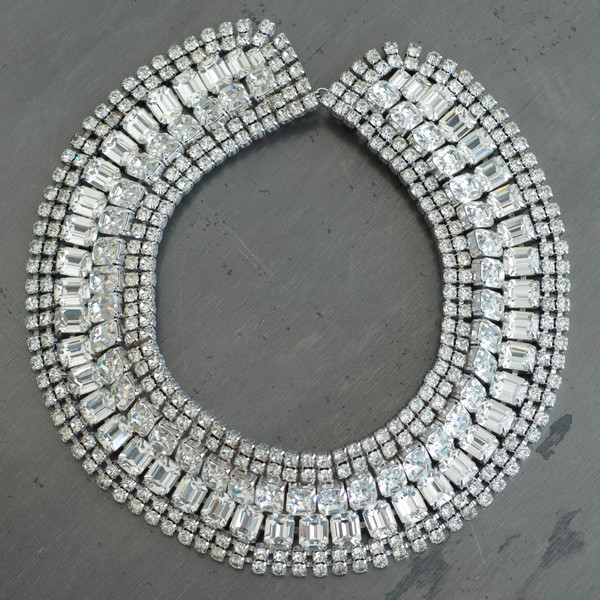 Carole Tanenbaum Vintage Collection 1950s Weiss Collar Necklace