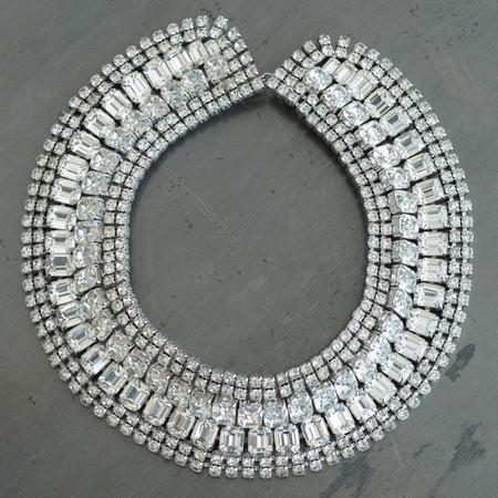 Carole Tanenbaum Vintage Collection 1950s Weiss Collar Necklace