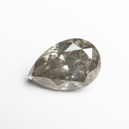 Misfit Diamonds Pear Brilliant - Grey