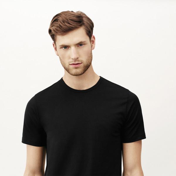 Handvaerk Crewneck Undershirt Black