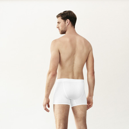Handvaerk Low Waist Trunk - White