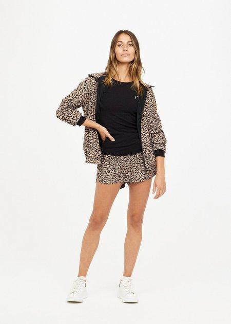 The Upside Lila Anorak jacket - Leopard