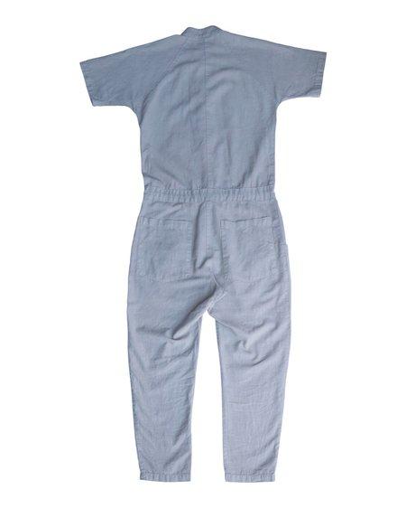 Unisex SEEKER Short Sleeve Jumpsuit - Fog