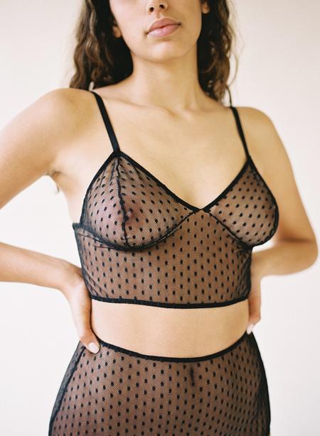 Aniela Parys Reishi Bralette - black