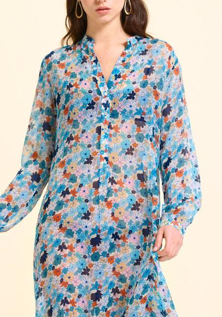 Calou  St Tropez Dress - blue