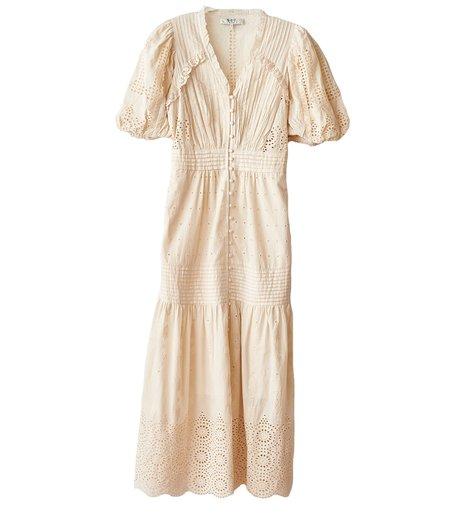 Sea NY Everleigh Eyelet Dress - CREAM