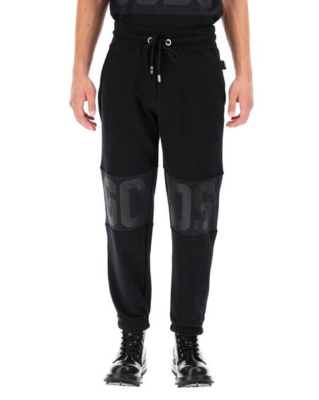 GCDS logo Trousers - Black