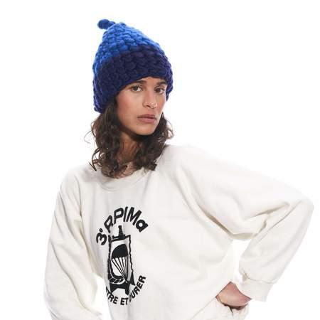 Mischa Lampert cm nip hat - blue.black
