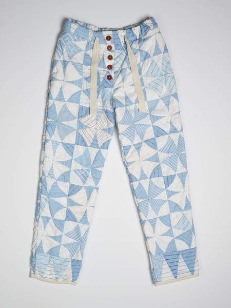 Marvin Ruby Kaleidoscope Quilted Pant