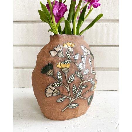 Erina Pearl Botanical Vase