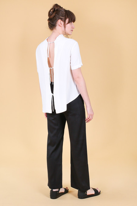 Shaina Mote Scarpa Top in Salt