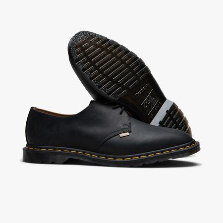Dr. Martens x JJJJound Archie II Shoes - Black Wyoming