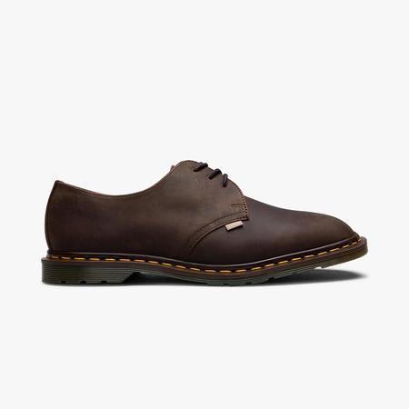 Dr. Martens x JJJJound Archie II Shoes  Dark Brown/Crazy Horse