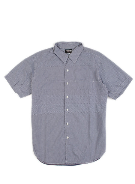 Rough & Tumble - Jerry Shirt White/Navy Gingham