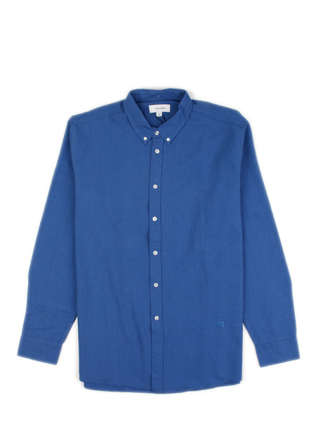Soulland - Goldsmith Shirt Deep Blue