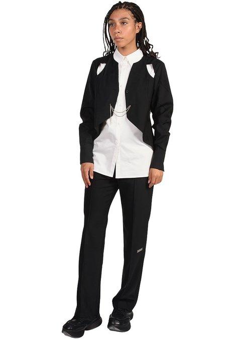 C2H4 Arc Cutting Ripple Shirt - white