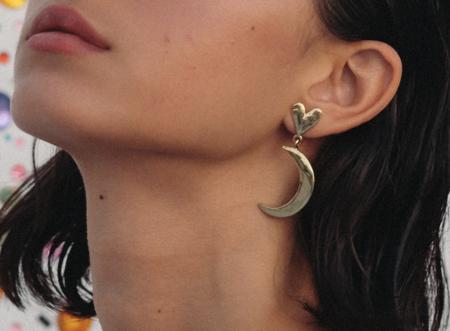 Luiny Half Moon Earrings