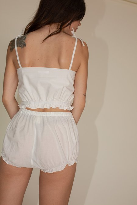 Azi Cloud Shorts - White