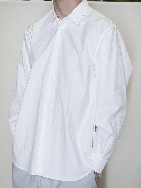 MAN-TLE R0 S8 Weather Shirt - White