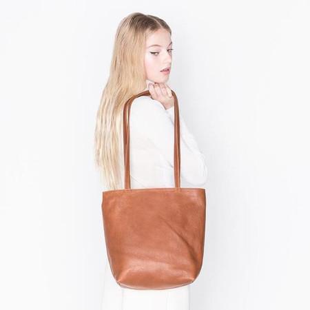 Erin Templeton BYOB Square Bag - Caramel
