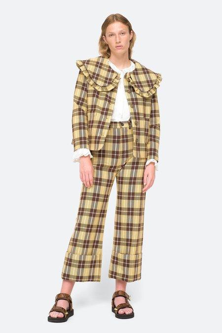 Sea NY Serge Cuffed Pants - Citron