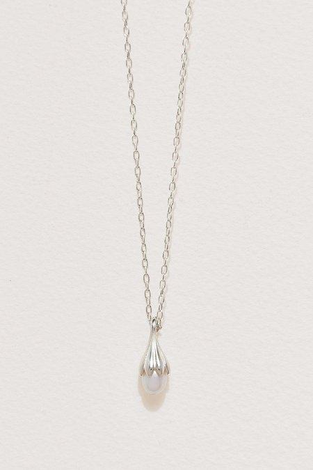 Pamela Love Anemone Pearl Pendant - Silver