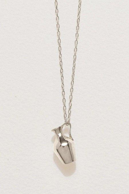 Pamela Love Vessel Pendant - Silver
