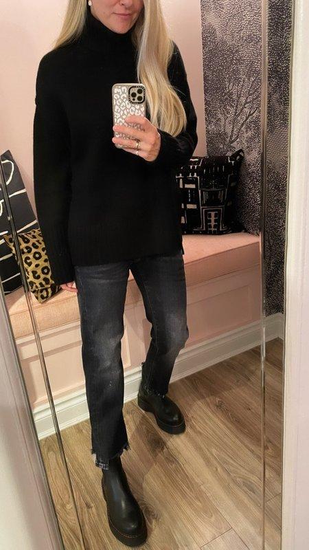 Doffer Boys Chunky T-Neck Sweater