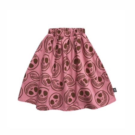 Kids LITTLE MAN HAPPY Happy Face Midi Skirt - Wild Rose