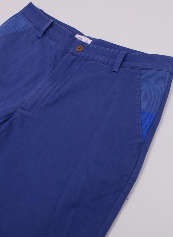 Folk Layered Short Mid Blue