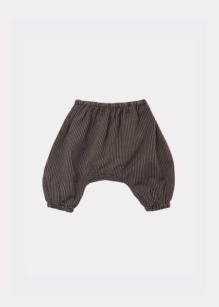 Kids Caramel Faraday Trousers - Brown Stripe