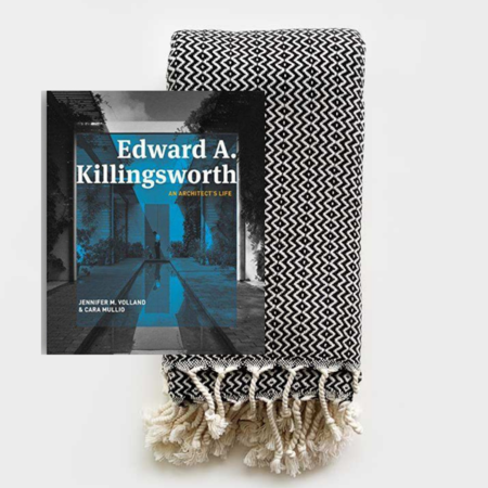 Edward A. Killingsworth An Architect's Life Towel & Book Gift Pack