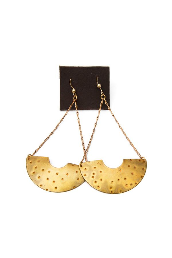 Dea Dia Bronze Sunrise Earrings