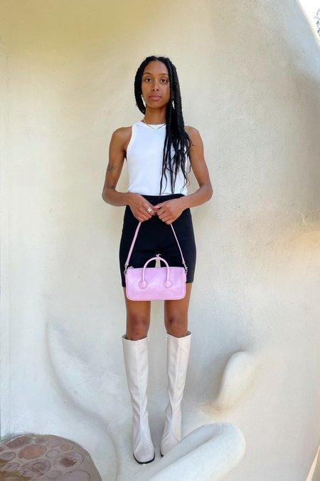 MARGESHERWOOD ZIPPER S bag - PINK CRINKLE