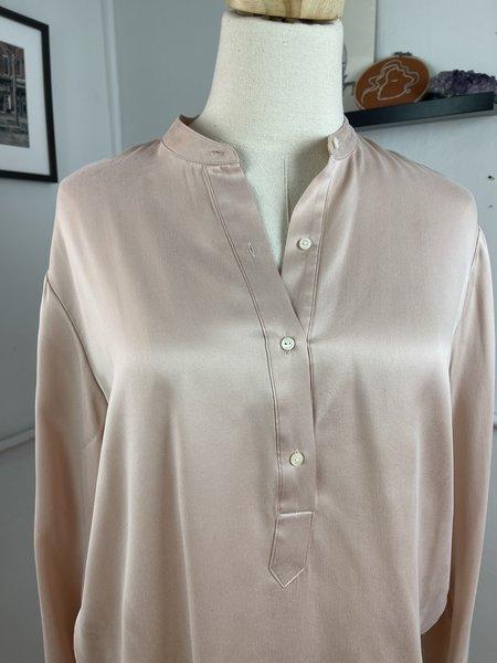 [pre-loved] Rag & Bone Silk Tunic Blouse Top - Pink