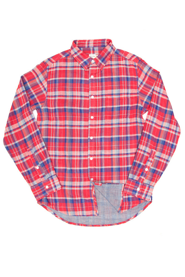 Men's Bridge & Burn Depoe Plaid