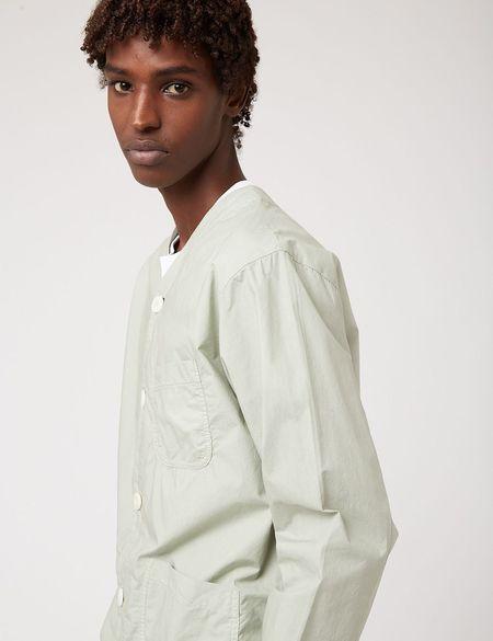 Bhode Railroad Shirt - Sage Green